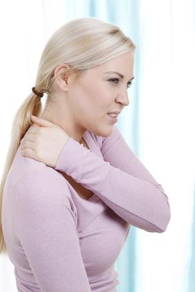 Nackenschmerzen und Rückenschmerzen