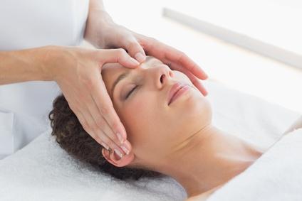 Kopfmassage als Teilmassage